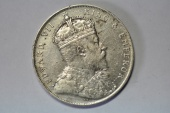 World Coins - Straits Settlements Silver Crown,  Dollar 1908   VF+