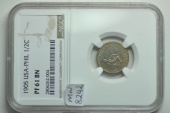 World Coins - USA - Philippines; 1/2 Centavo 1905   NGC PF61 BN