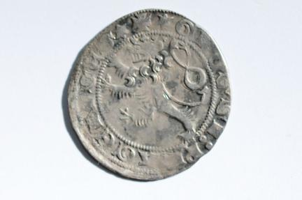 World Coins - Bohemia, Czech Large Grossus no date ca 1300-1310  XF