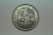 World Coins - Bolivia; 50 Centavos - 1/2 Boliviano  1939  BU