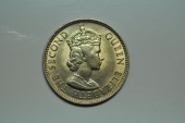 World Coins - British Honduras; 25 Cents 1965   BU