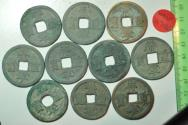 World Coins - China, The Northern Song Dynasty; 10 Coins Lot - 10 Cash no date 1102 - 1106   Li Script