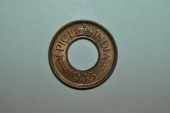 World Coins - India; Pice  1945  BU