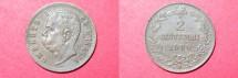 World Coins - Italy 2 Centesimi 1900 R  AU
