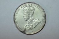 World Coins - Straits Settlements Silver 50 Cents  1920   XF