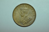 World Coins - India; 1/4 Anna 1929 (c)  George V  BU