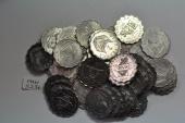 World Coins - Rwanda; 2 Francs 1970  BU - 50 coins lot - Series: FAO