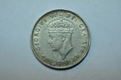 World Coins - Cyprus; Silver 9 Piastres 1940  XF