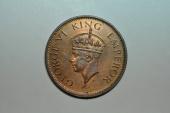 World Coins - India; 1/4 Anna 1940 (c)  George VI  BU
