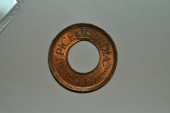 World Coins - India; Pice 1945 (c)  George VI  BU