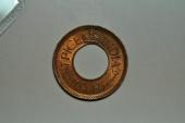 World Coins - India; Pice 1945 (c)  George VI  BU
