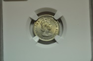World Coins - Malaya & British Borneo; 5 Cents 1961 KN  NGC MS63