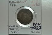 China, Manchukuo; Fen KT5 - 1938  XF-
