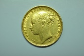 World Coins - Australia; Gold Sovereign 1887 M  - St. George -  Au/Unc