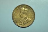 World Coins - India; 1/4 Anna 1935 (c)  George V  BU