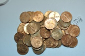 World Coins - Malaya & British Borneo; Cent 1962 BU - 25 coins lot