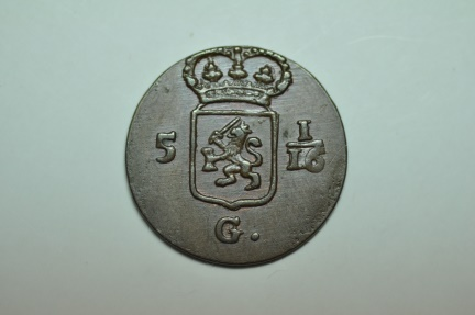 World Coins - Netherlands East Indies; Duit 1808    Choice Unc