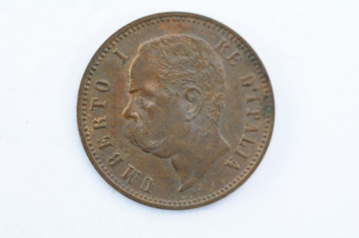 World Coins - Italy 2 Centesimi 1897 R  XF