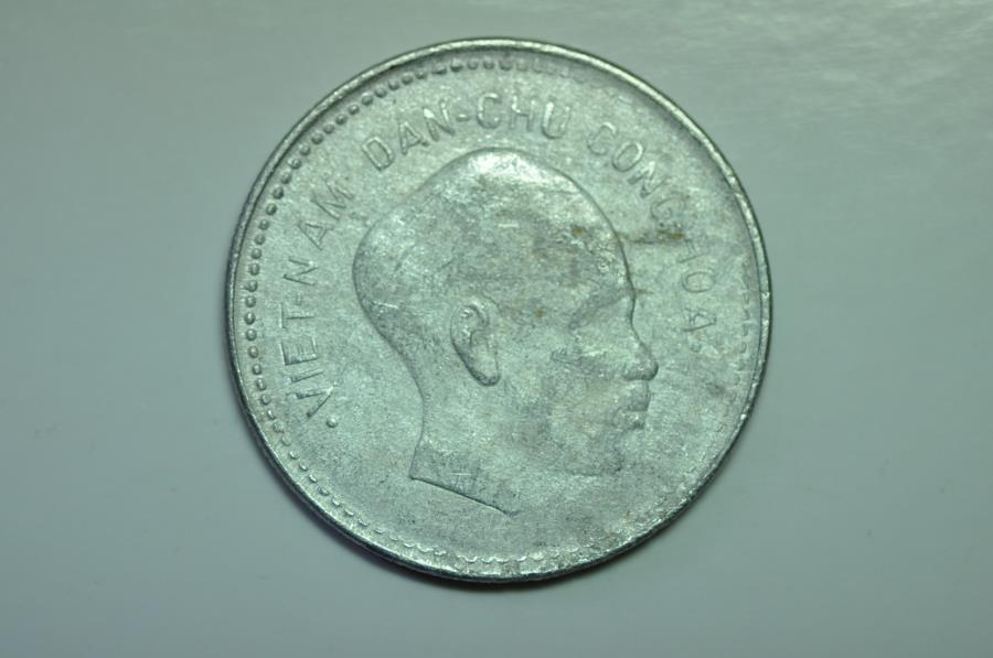 World Coins - Vietnam Democratic Republic; Dong 1946  Head of Ho Chi Minh  SCARCE