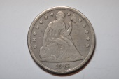 Us Coins - Seated Liberty Dollar 1843