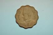 World Coins - Egypt; 10 Milliemes AH1362 - 1943  XF