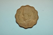 World Coins - Egypt; 10 Milliemes AH1362 - 1943  XF