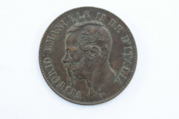 World Coins - Italy 2 Centesimi 1867 M  VF+