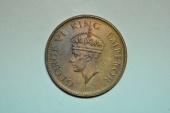 World Coins - India; 1/4 Anna 1942 (c)  George VI  BU