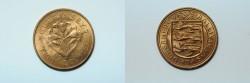 World Coins - Guernsey 8 Doubles 1959  BU
