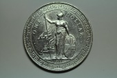 Great Britain; Silver Trade Dollar 1911 B  Unc.