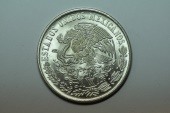 World Coins - Mexico; Silver Crown 100 Pesos 1977  UNC