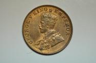 World Coins - India; 1/4 Anna 1936 (B)  UNC