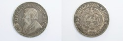 World Coins - South Africa Silver 2 1/2 Shilling 1896  XF