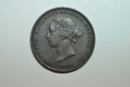 World Coins - Jersey; 1/26 Shilling 1870  XF
