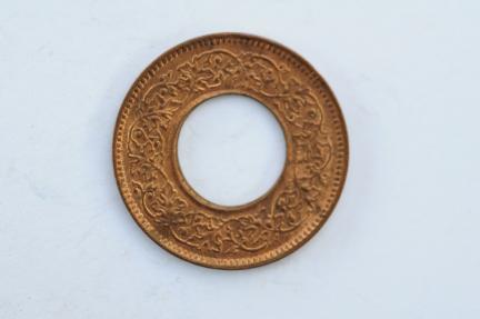 World Coins - India British  Pice 1944  UNC