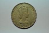 World Coins - Malaya & British Borneo; 50 Cents 1954  XF+