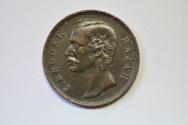 World Coins - Sarawak; Cent 1886  VF