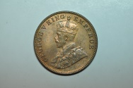 World Coins - India; 1/4 Anna 1936 (b)  George V  BU