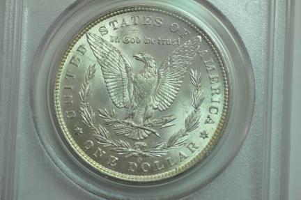 World Coins - Morgan Dollar 1885-O  PCGS MS63