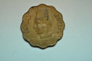 World Coins - Egypt; 5 Milliemes AH1362 - 1943  Unc
