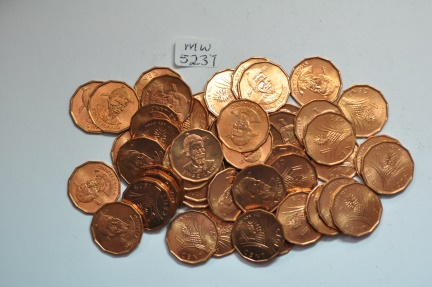 World Coins - Swaziland; Cent 1975  BU - 50 coins lot   Series: FAO