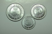 World Coins - Cambodia; 3 Coins Set: 10; 20; 50 Sen 1959  Unc