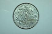 World Coins - Bolivia; 50 Centavos 1939  BU