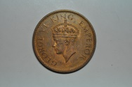 World Coins - India; 1/4 Anna  1942 (c)   BU