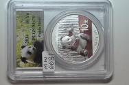 World Coins - China; Silver Panda - 10 Yuan 2014   PCGS MS70 - Max Grade !