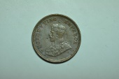 World Coins - India; 1/12 Anna 1926 (c)  George V    AU