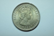 World Coins - Malaya & British Borneo; 50 Cents 1961  BU