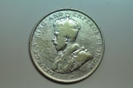World Coins - British Honduras; Silver 50 Cents 1919   VF