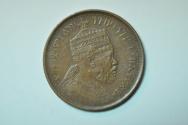 World Coins - Ethiopia; 1/32 Birr EE1889 - 1897 AD  XF