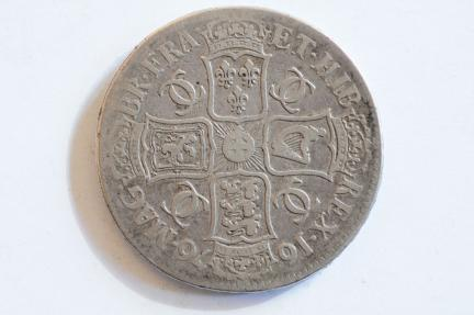 World Coins - Great Britain Silver Crown 1676  VF